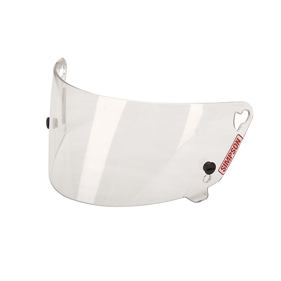 Simpson 88200A Shield for V-Sport & Voyager Helmets, Clear Shield
