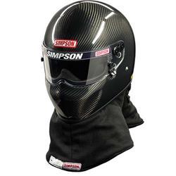 Simpson FIA 8860 X Bandit Pro Carbon Fiber SA2010 Racing Helmet