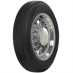 Coker Tire 639750 Firestone Bias Ply Blackwall Tire, 550-16