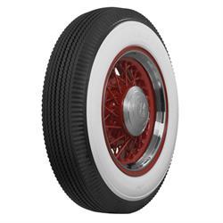 Coker Tire 663520 Firestone Bias Ply Tire, 4 Inch Whitewall 6.50-16