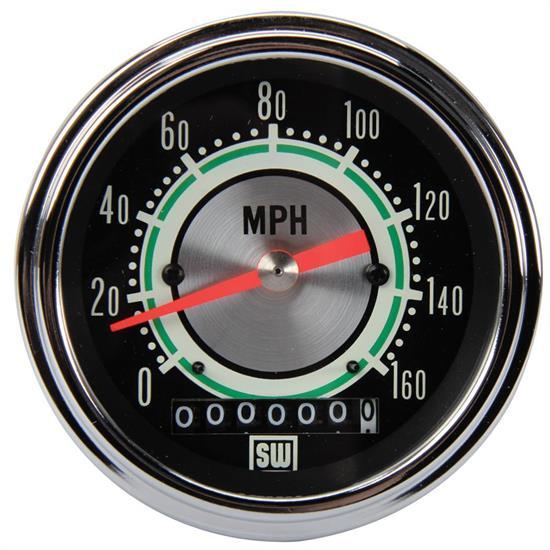 665530_L_6b4a39a8 52da 4052 9150 6e4123d628f7 warner 530dh green line 160 mph 3 3 8 in electric speedometer vintage stewart warner tachometer wiring diagram at edmiracle.co