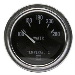 Stewart Warner 82307 2-1/16 Inch Deluxe Electric Water Temp Gauge