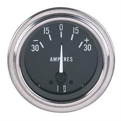 Stewart Warner 82310 Deluxe Ammeter Gauge, 2-1/16 Inch, 30-0-30 Amps