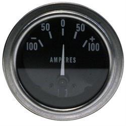 Stewart Warner 82313 Deluxe Ammeter Gauge-2-1/16 Inch, 100-0-100 Amps