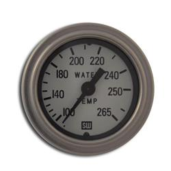 Stewart Warner 82326-72-WHT Deluxe Water Temperature Gauge