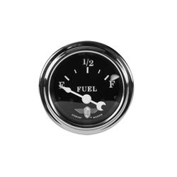 Stewart Warner 82472 Wings Fuel Level Gauge, Black