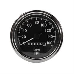 Stewart Warner 550BP-D Deluxe Speedometer, Mechanical, 3-3/8 Inch
