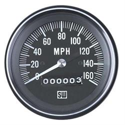 Stewart Warner 550HH-D Heavy Duty Speedometer, Mechanical, 3-3/8 Inch