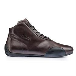 Sparco 001214 Classic Brown Leather Shoes, Brown, 41