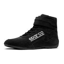Sparco 001272010N Wide-Toe Racing Shoes, Black, 10