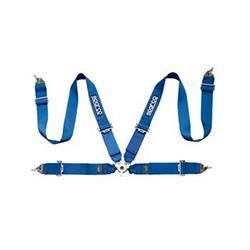 Sparco 04815BM 4-Point P-3 Seat Belts, Aluminum