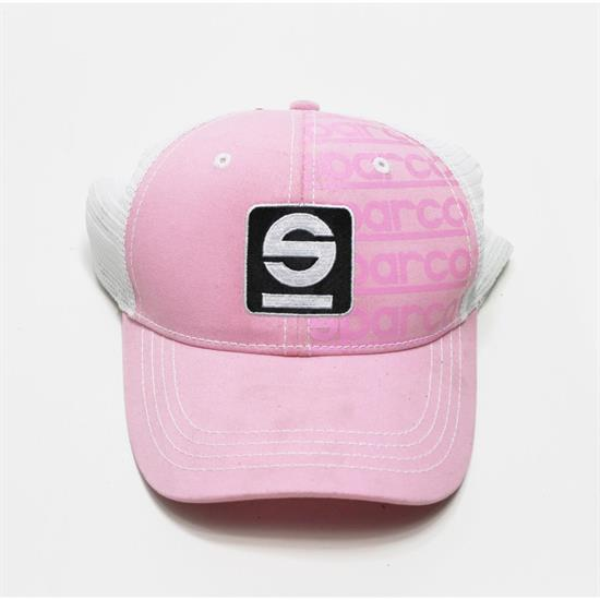 Garage Sale - Sparco Tracker Cap, Pink/White