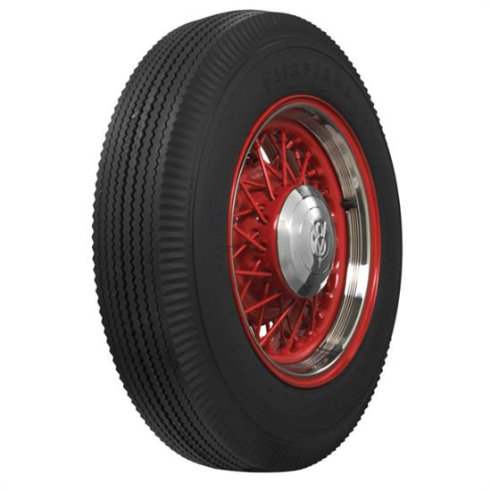 Coker Tire 676450 Firestone Blackwall Bias Ply Tire 7.00-16