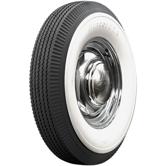 Bias Ply Tires >> Coker Tire 682310 Firestone 4 1 2 Inch Whitewall Bias Ply 7 50 16