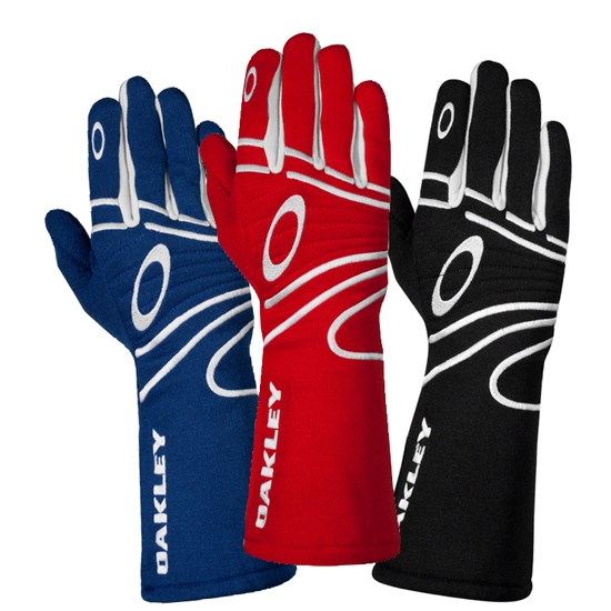 Oakley Red Racing Gloves, XL SFI/FIA 3.3/5, Fire-Resistant
