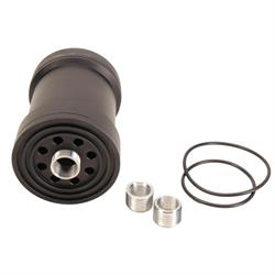 System 1 Filtration Reusable Oil Filter, 5-3/4 In. Tall, Metric Thread