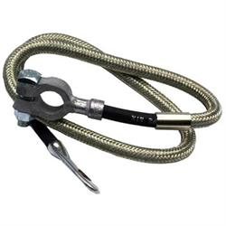 Taylor Cable 20034 Diamondback Braided Stainless Battery Cable-34 Inch