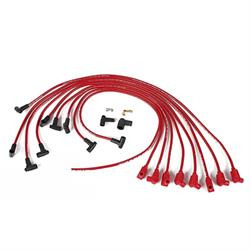 Taylor Cable 76240 8mm Spark Plug Wires-Solid Core-Under Headers-90