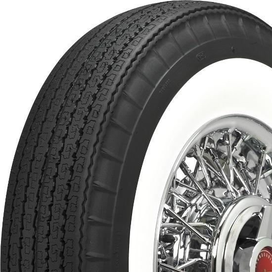 coker 670r15 american classic biaslook radial 275 in whitewall tire