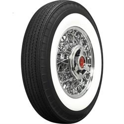 Coker 670R15 American Classic Bias-Look Radial 2.75 In Whitewall Tire