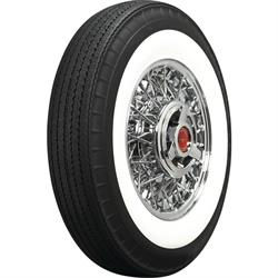 "Coker Tire 710R15 American Classic Tire, Bias-Look Radial 2.75"" Whitewall"