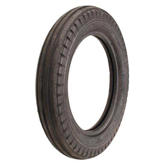 Coker Tire 712280 Firestone Bias Ply Ribbed Front Tire, Dirt Track