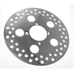 Front Polished Stainless Steel Replacement Brake Rotor, 1/4 x 10 Inch