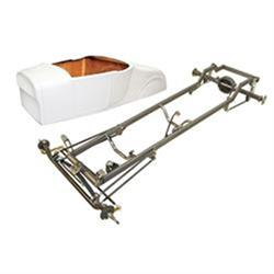 Deluxe '27 T-Bucket Frame Kit w/ Standard Body, Unchanneled Floor