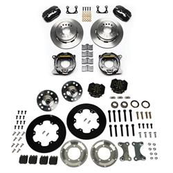 Total Performance Wilwood Bolt-On Front/Rear Brake Kit, Chevy Spindles
