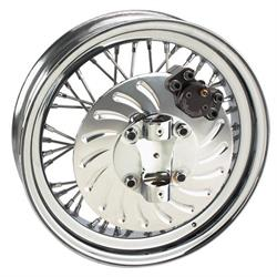 Speedway Front Disc Brake Kit for Spindle-Mount Wire Wheels