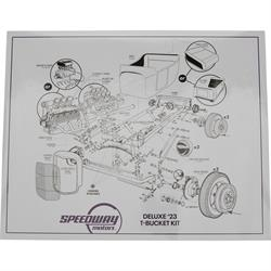 Speedway Motors Deluxe '23 T-Bucket Kit Poster