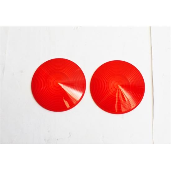Red Tail Light Lens