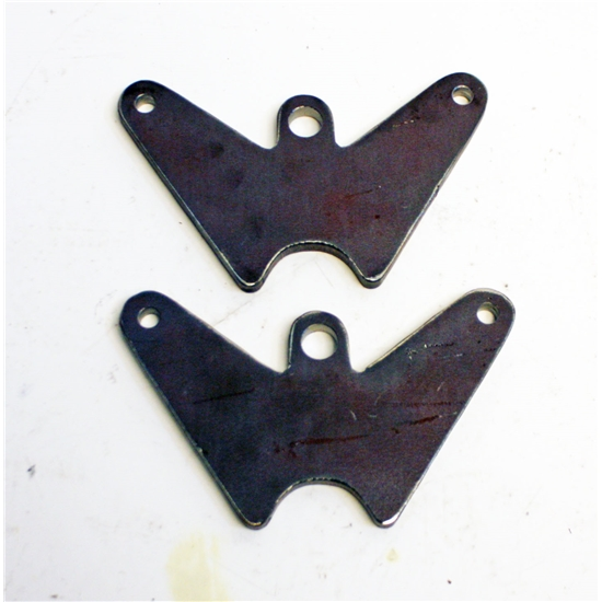 Garage Sale - Plain Front Radius Rod Brackets