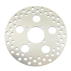 Stainless Steel Drilled Brake Rotor for Spindle Mount Wheel