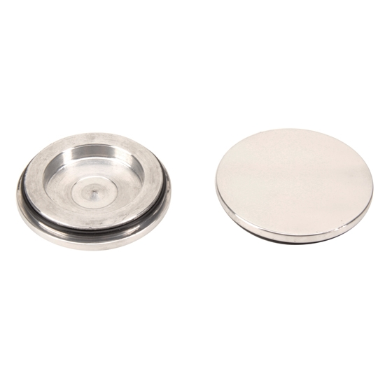 Dayton Wire Wheel Polished Hub Caps, Pair