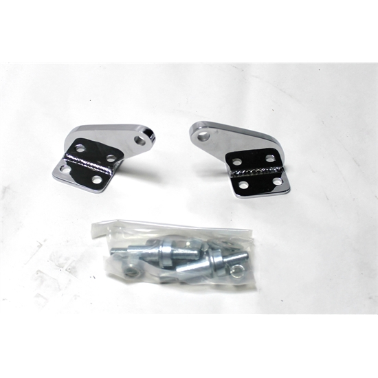 Garage Sale - Total Performance SB111C Chrome Upper Short Shock Brackets Only