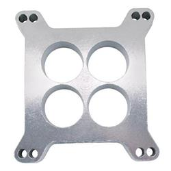 Holley Aluminum 1 Inch Carburetor Spacer, 4-Hole