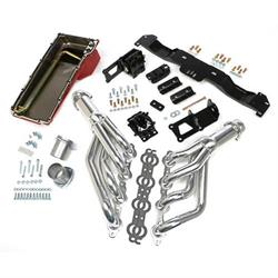 Trans-Dapt 42032 Engine Swap Kit, 1975-81 GM LS, Silver Ceramic