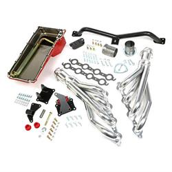 Trans-Dapt 42052 Engine Swap Kit, 1973-91 C10/C15 2WD, Silver Ceramic