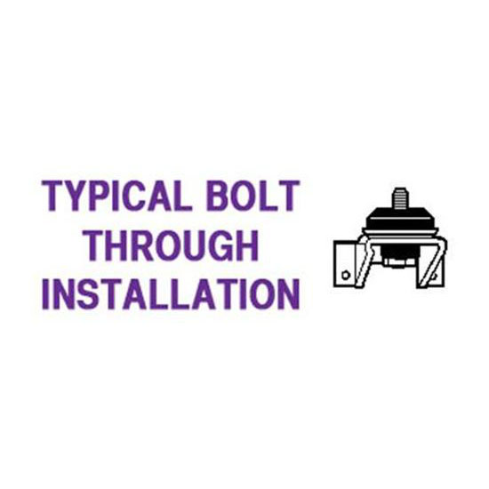 Universal Bolt-Through Engine Mount Cushion Kit