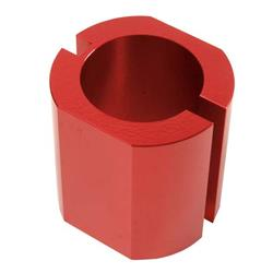 QA1 7791-143 Tool, Monotube Body Clamp, Anodized 46mm, Red Anodized