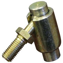 QA1 BJDR6 Quick Disconnect Ball Joint, Carbon Steel, 3/8-24 Thread