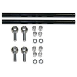 QA1 CAX105 Lower Tubular Trailing Arms 05-14 Mustang with X Series Rod Ends