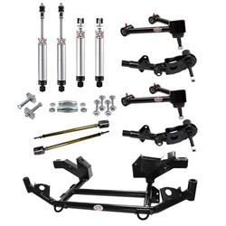 QA1 DK02-CRB1 1966-70 Mopar B-Body Drag Racing Suspension Kit, Level 2