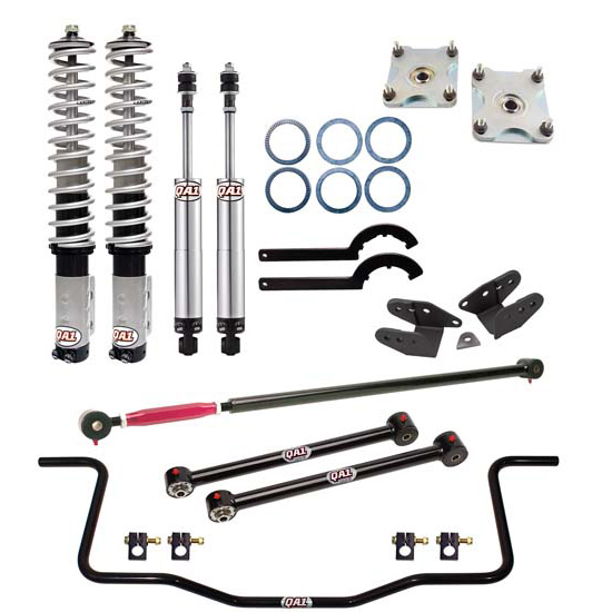 QA1 DK02-FMM6 Level Two Drag Suspension Kit, 11-14 Mustang