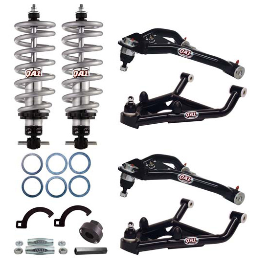 QA1 DK02-GMF1 1967-69 GM F-Body Drag Racing Suspension Kit, Level 2
