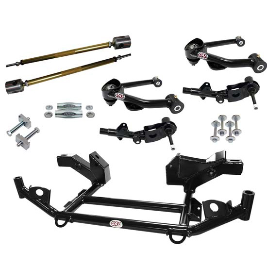 QA1 DK11-CRA1 1967-72 Mopar A-Body Drag Racing Suspension Kit, Level 1