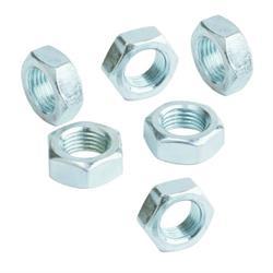 QA1 JNL12A-6PK Jam Nut, Aluminum, 3/4 in.-16 LH Thread, Set of 6