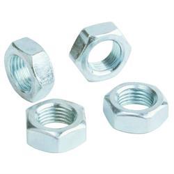 QA1 JNR6A-6PK Jam Nut, Aluminum, 3/8 in.-24 RH Thread, Set of 6