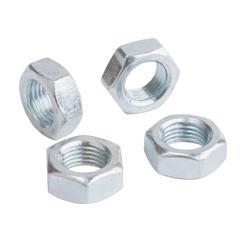 QA1 JNR6A Aluminum Jam Nut, RH, 3/8-24 Threads, 9/16 Hex